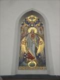 Image for Mosaik Pfarrkirche Mariä Himmelfahrt, Pfaffenhofen, Tirol, Austria
