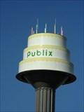 Image for Publix Cake Water Tower - Lakeland, FL