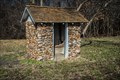 Image for Boys Privy – Cave Spring School and Cave Spring Cemetery - Sarcoxie, Missouri