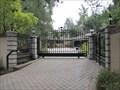 Image for Circular drive double gate - Saratoga, CA