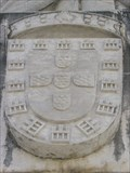 Image for Coat of arms of the King D. Dinis - Coimbra, Portugal