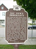Image for Bay View's Immigrants Historical Marker