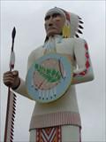 Image for Standing Brave - Big Cabin, Oklahoma, USA.