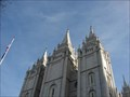 "Image for Benchmark: LO1000 "" SALT LAKE CITY TEMPLE W SPIRE """
