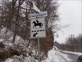 Image for Passage de Balade en cheval.  -Blainville.  -Québec.
