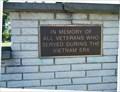 Image for Vietnam War Memorial, Community Park, Fredonia, PA, USA