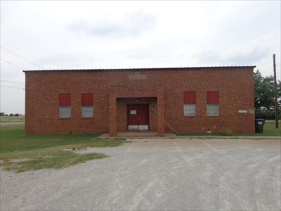 The old Fairview School, which is owned by the church, and is now used for Sunday school and meetings, and as an occasional polling place.