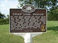 Image for Third Lake Passage Historical Marker
