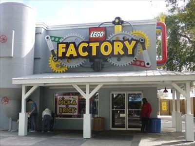 Lego Factory - Legoland - Florida, USA.