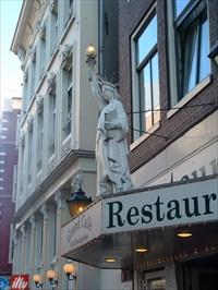 Grand Cafe Statue of Liberty, Amsterdam, Netherlands