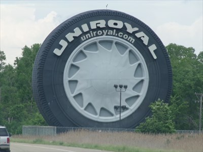 Uniroyal Tire - Relocated To - Allen Park - Michigan