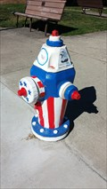 Image for To Our Troops & Veterans Fire Hydrant - Eagle Point, OR