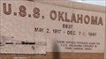Image for USS Oklahoma Memorial - Oklahoma City, Oaklahoma, USA.