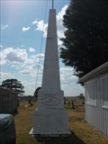 Image for G.A.R. Memorial - Cherokee Cemetery - Rural Cherokee County, Ks.