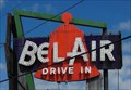 Image for Historic Route 66 - The Bel-Air Drive-in - Mitchell, Illinoise, USA.