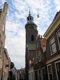 Clock in Blokzijl, the Netherlands.