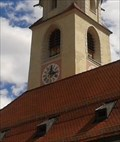 Image for Turmuhr Pfarrkirche Arzl - Tirol, Austria