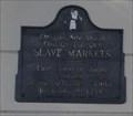 Image for Old Slave Markets -- Mobile AL