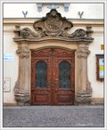 Image for Entrance into Deanery House, Dvur Králové nad Labem, Czech Republic