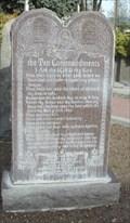 Image for Exodus 20:1-17 - Veteran's Memorial - Nampa, ID, USA