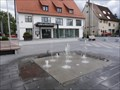 Image for Squirting Fountain - Town Hall Remmingsheim, Germany, BW