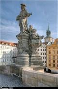 Image for Sculptural group of St. Ivo on Charles Bridge / Sousoší Sv. Iva na Karlove moste (Prague)