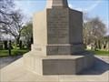 Image for Ecclesiasticus 44:1-15 – World War I memorial – Bradford, UK