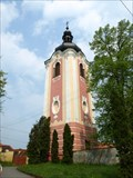 Image for Bell tower of the church of St. Giles / Zvonice u kostela sv. Jiljí, Mirotice, Czech republic