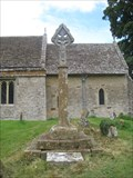 Image for Medieval cross- St. Olaves Church - Fritwell  - Oxon