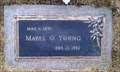 Image for 100 - Mabel O. Young - Klamath Memorial Park - Klamath Falls, OR