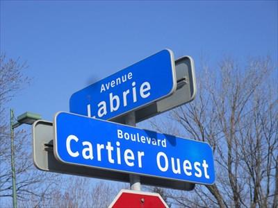 Coin Labrie et Boul. Cartier O.