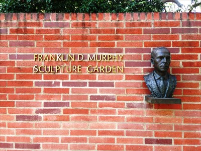Sign at the south east entrance to the garden.