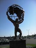 Image for Globe Atop Atlas Statue - Madison Ave - Sacramento, CA