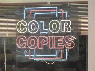 Color Copies -2, Copy Central, Berkeley, CA