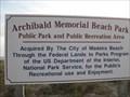 Image for Archibald Memorial Beach Park - Madeira Beach, FL