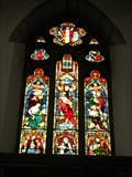 Image for All Saints Church Stained Glass Window - Bakewell, Derbyshire, England