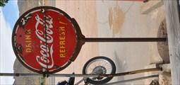Image for Coca-Cola Sign ~ Hackberry, Arizona