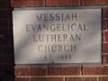 Image for 1953 - Messiah Lutheran Church - Spokane, WA