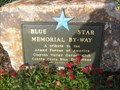 Image for Grove Park Blue Star Plaque - Clayton, CA