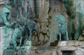Image for Dogs in  Matthias Fountain, Buda's Castle - Bubapest, Hungary