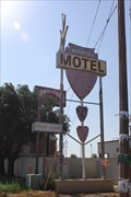Image for Old Arrow Motel sign -- Old Rte 66, Amarillo TX