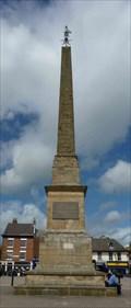 Image for Obelisk - Market Square, Ripon, Yorkshire, UK.