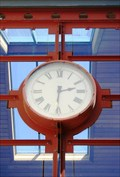 Image for Steamer Wharf Clock — Queenstown, New Zealand