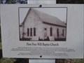 Image for First Free Will Baptist Church - Lowell AR