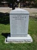 Image for Eden World War II Memorial - Eden, Utah