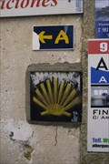 Image for Calle Plaza Way Marker - Finisterra, Spain