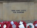 Image for Ecclesiasticus 44:1-15 – Combined World War I and II memorial – Bradford, UK