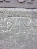 Image for Cut Mark, Milestone, Holyhead Road, Froncysyllte, Wrexham, Wales, UK