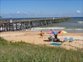 Image for Flagler Beach Pier - Satellite Oddity - Florida, USA.