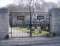 Image for Wombwell Cemetery Gate, South Yorkshire